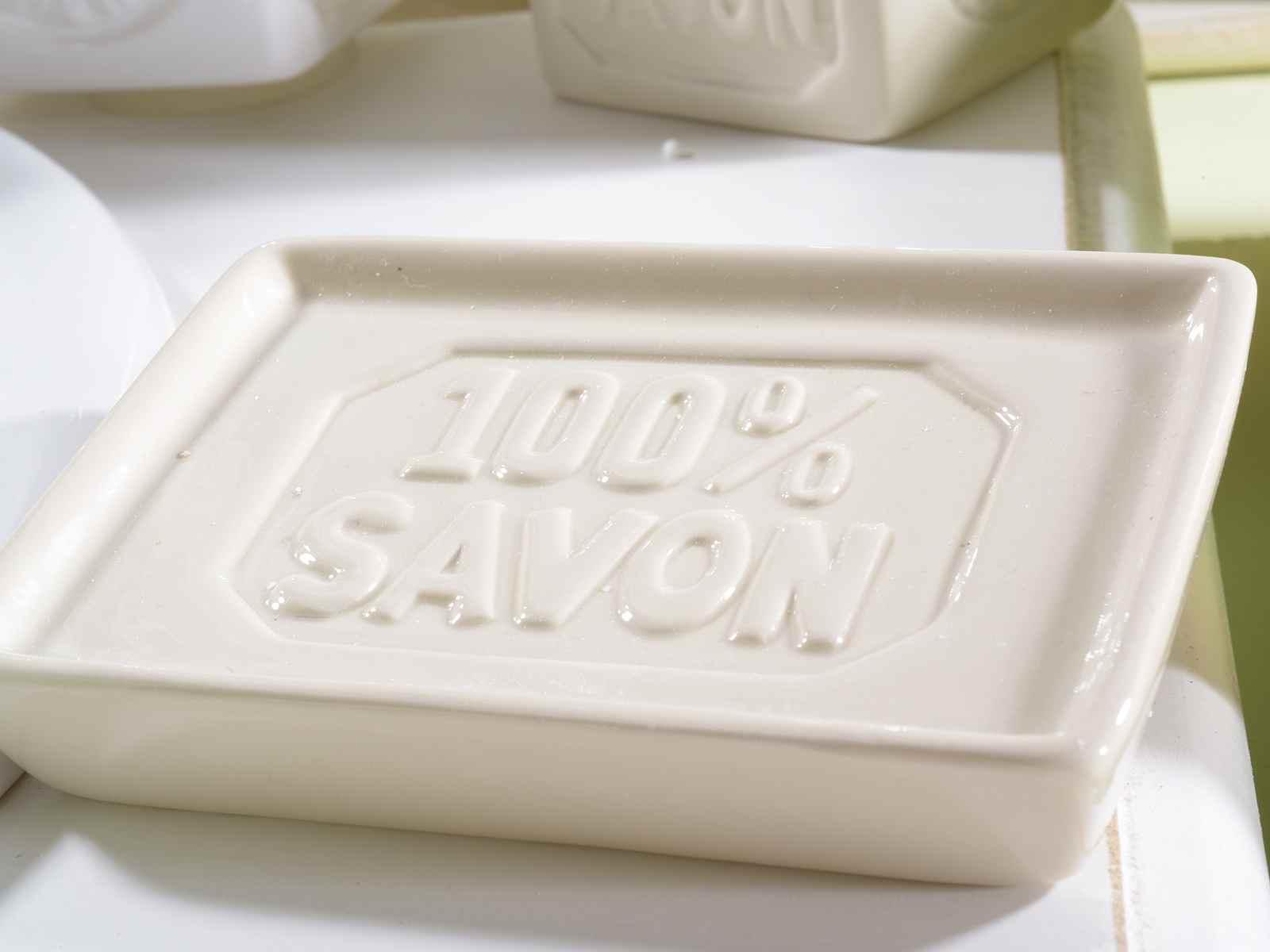 Set 4 accesorios de bano de ceramica art from for Set accesorios bano
