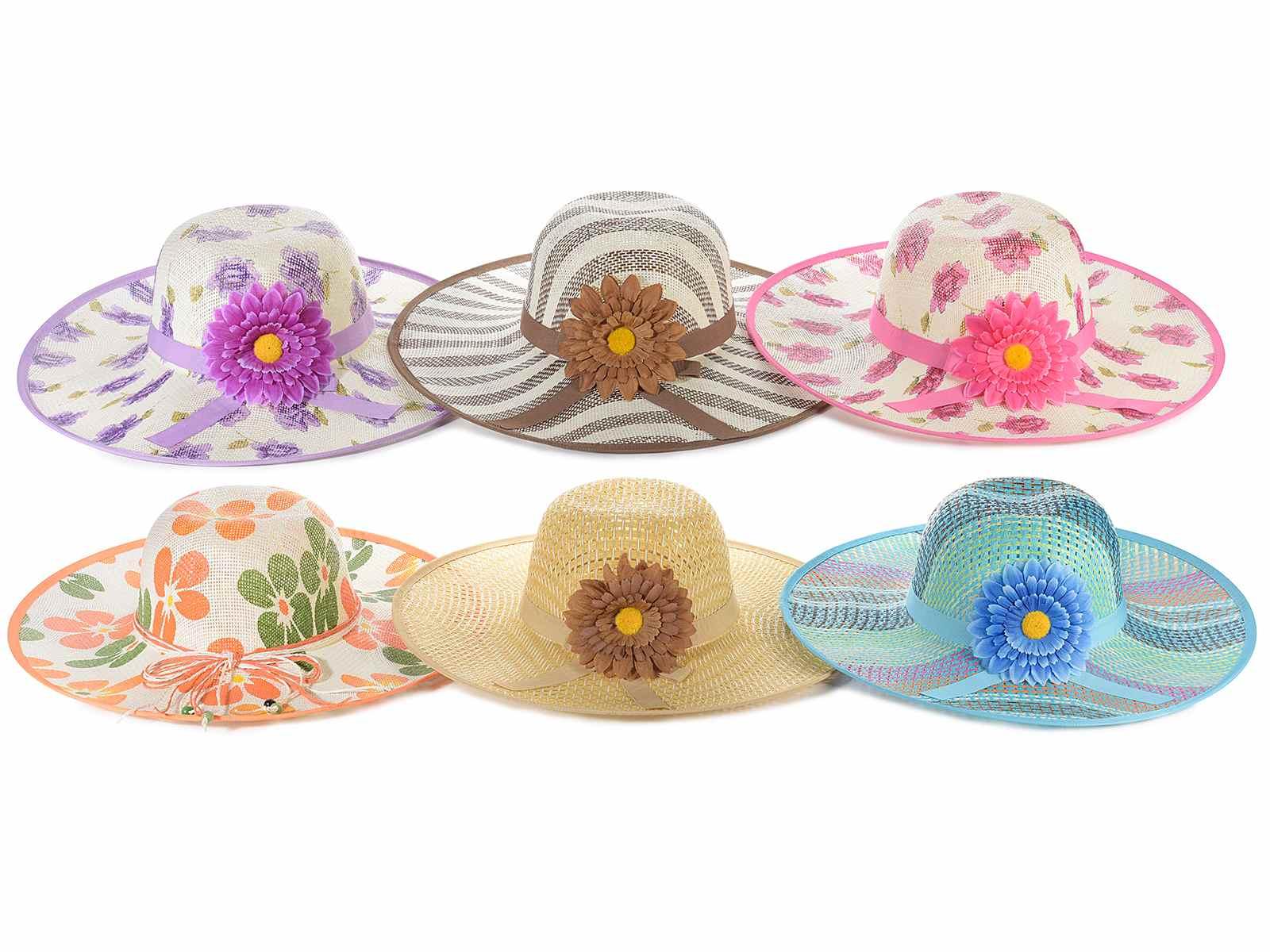 Sombreros de playa para mujeres (12.13.71) - Art From Italy c3789ec3b70