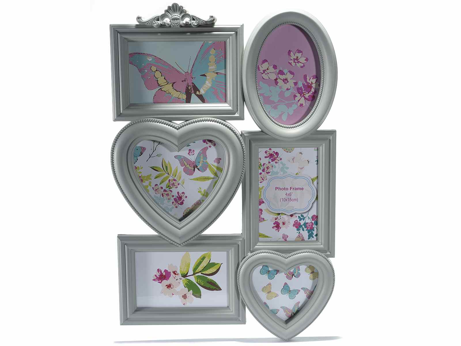 Multiple Photo Frames In Artificial Resin To Hang 543248 Art