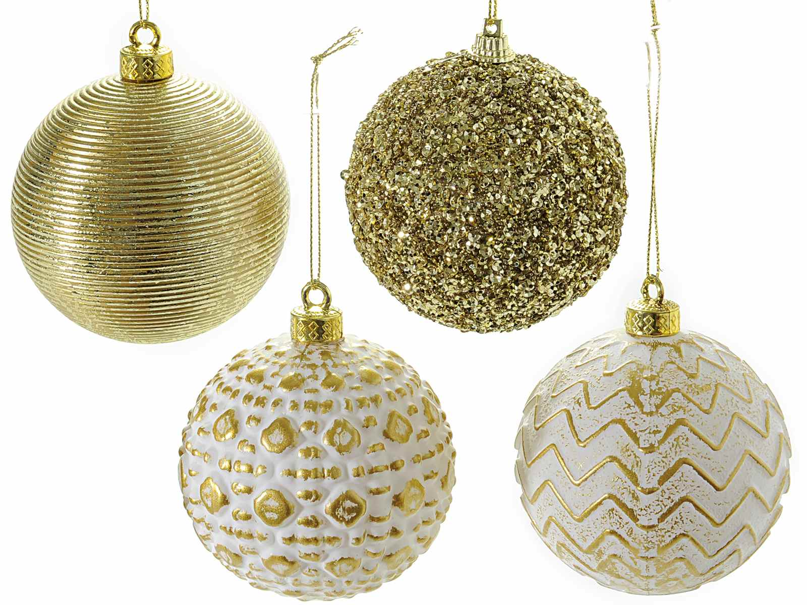 Goldene Weihnachtskugeln.Hängende Goldene Weihnachtskugeln 59 01 12 Art From Italy