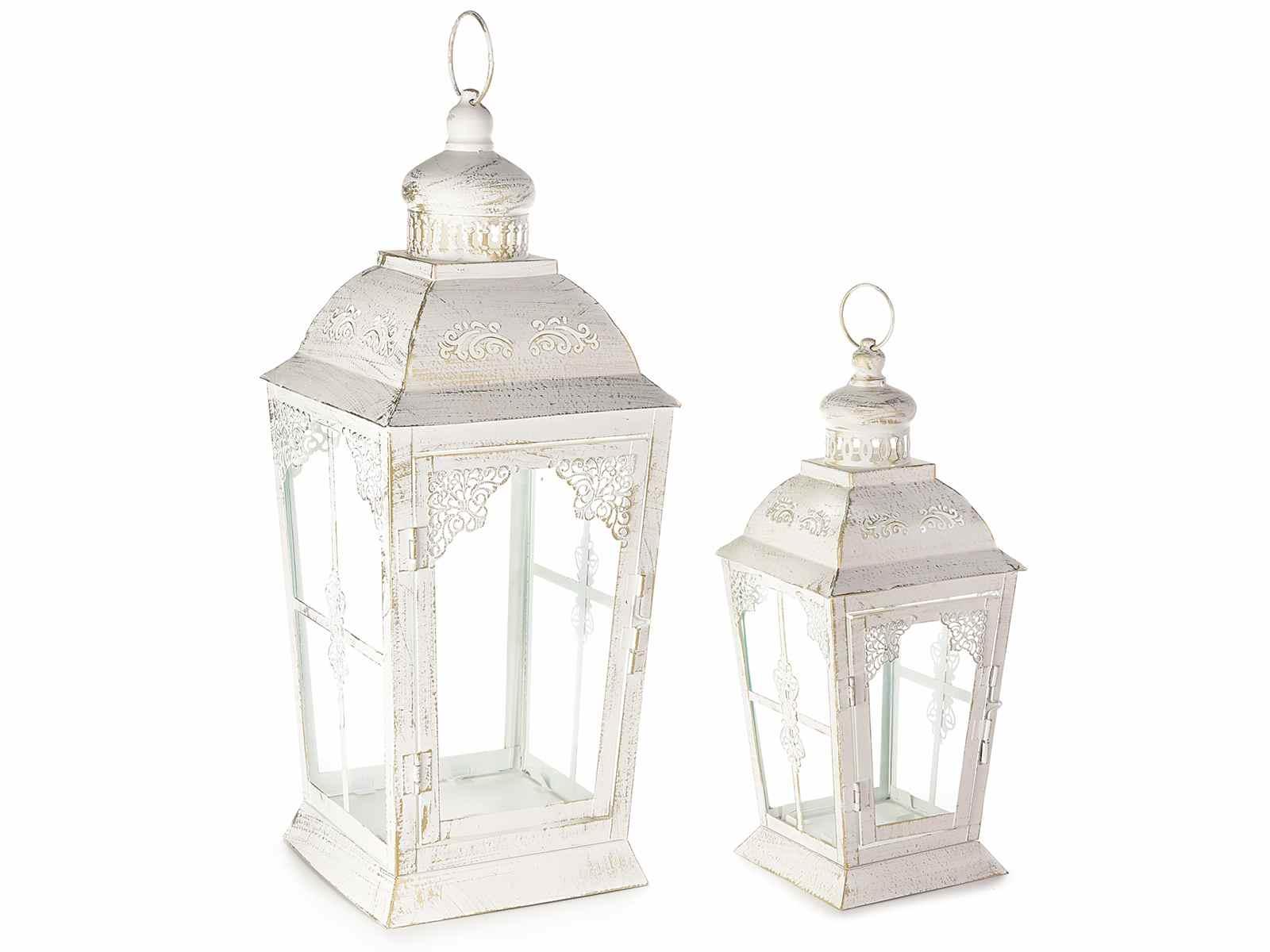 Portacandele Da Giardino : Per candele portacandele da giardino in metallo bianco altezza da 70