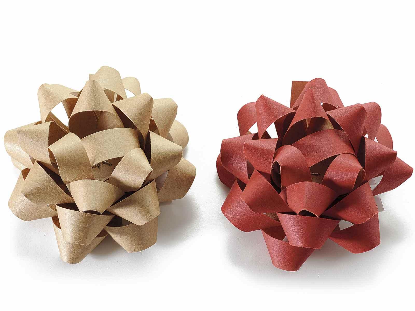 bo te 35 noeuds cadeau en papier assortis avec adhesifs art from italy. Black Bedroom Furniture Sets. Home Design Ideas