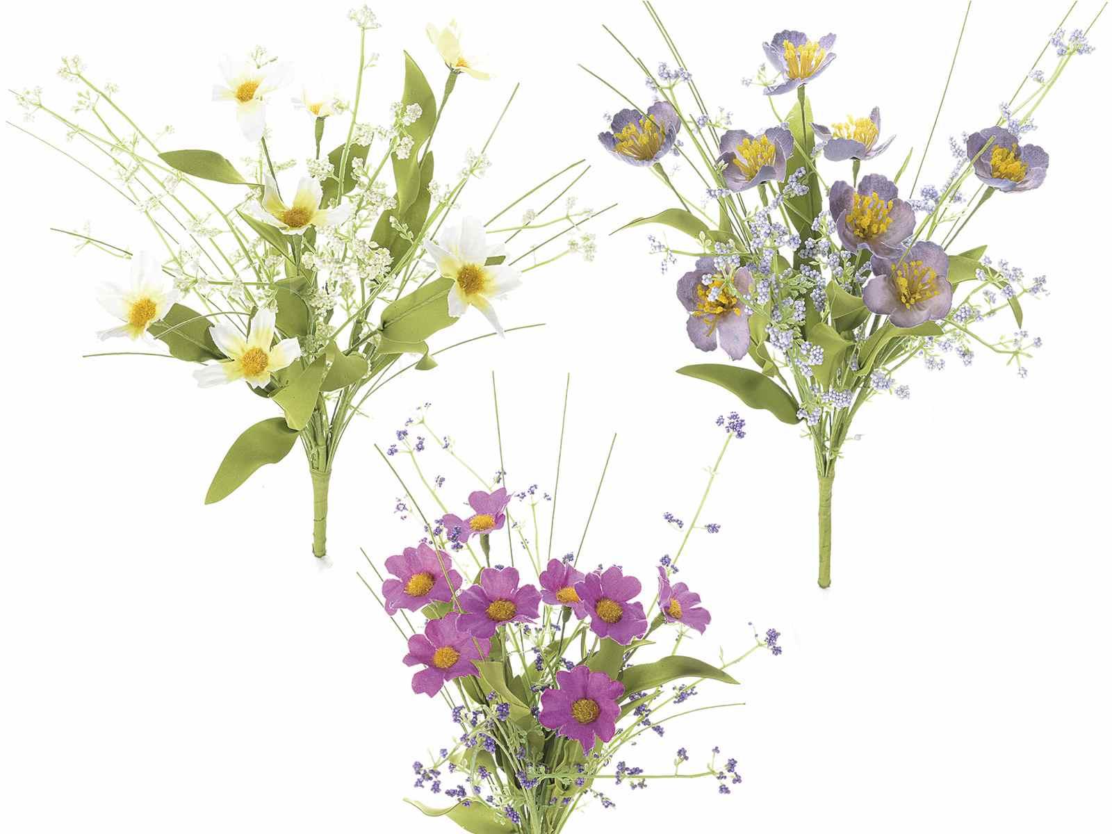 bouquet de fleurs de champs artificielles art from italy. Black Bedroom Furniture Sets. Home Design Ideas