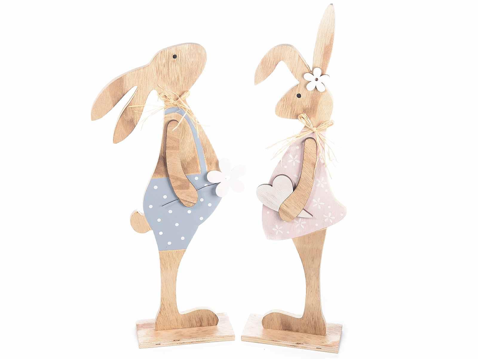 Deco lapin de paques en bois for Art et decoration abonnement