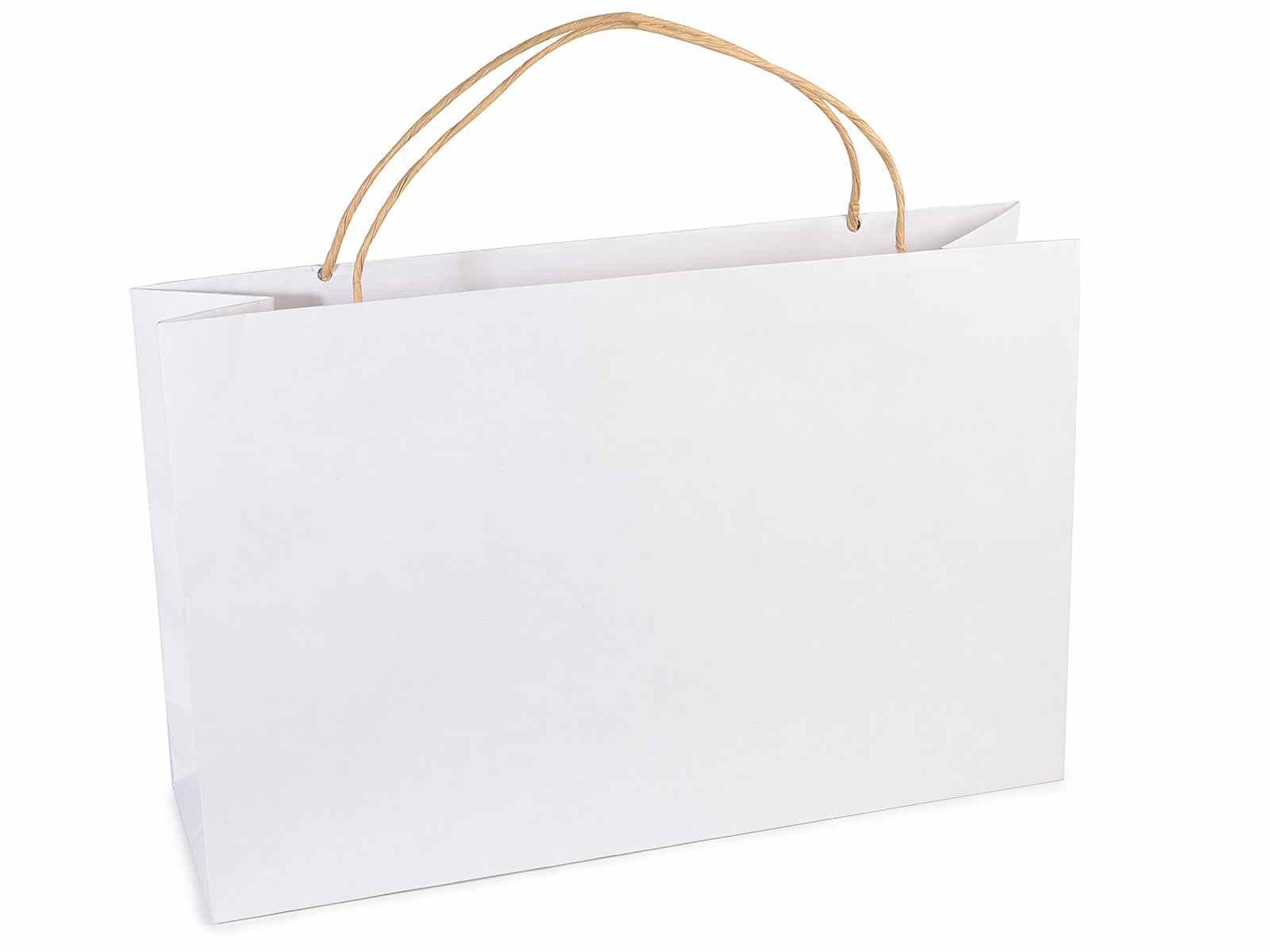 couleur n brillante produits de qualité conception populaire Sac rectangulaire en papier rigide avec poignées (12.13.74 ...
