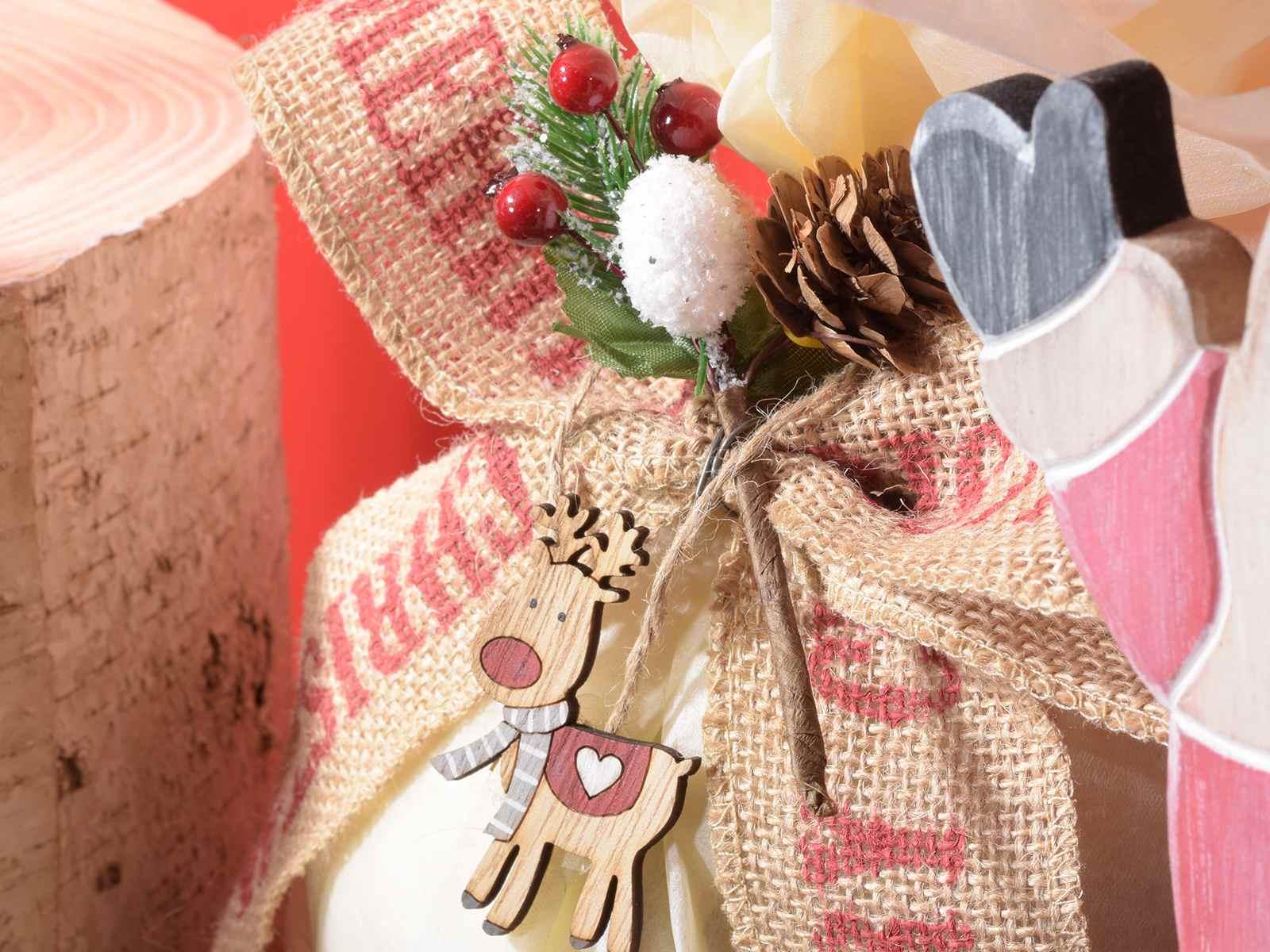 Espo 72 decorazioni in legno colorato da appendere for Decorazioni natalizie in legno da appendere