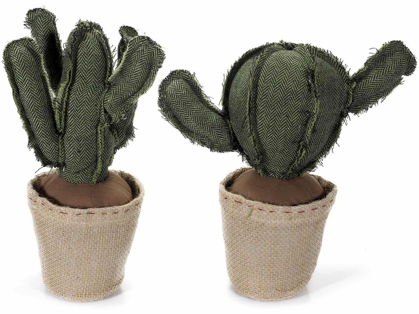 Fermaporta cactus in stoffa imbottita art - Fermaporta di stoffa ...