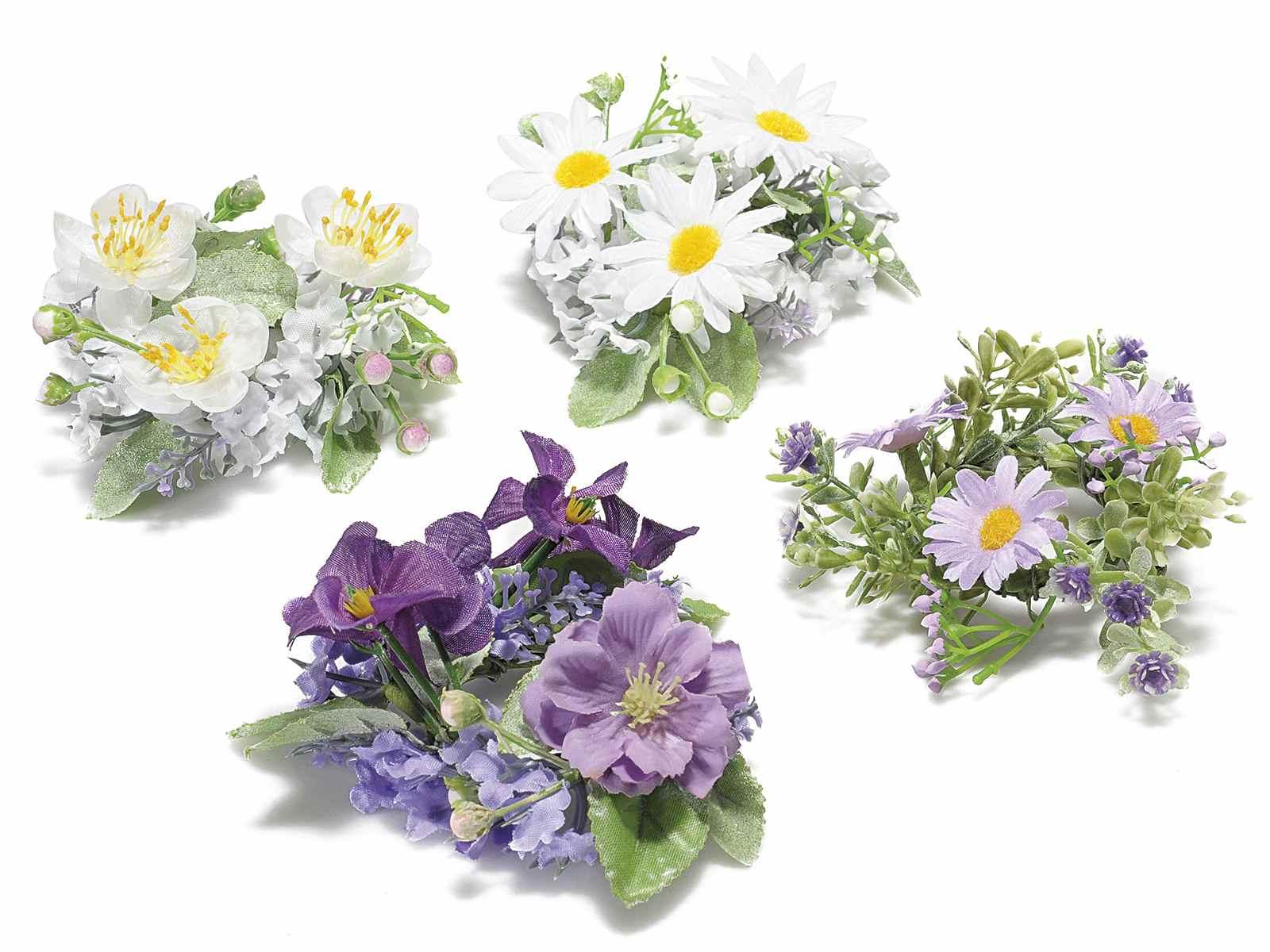 Ghirlanda di fiori artificiali art from italy for Fiori artificiali
