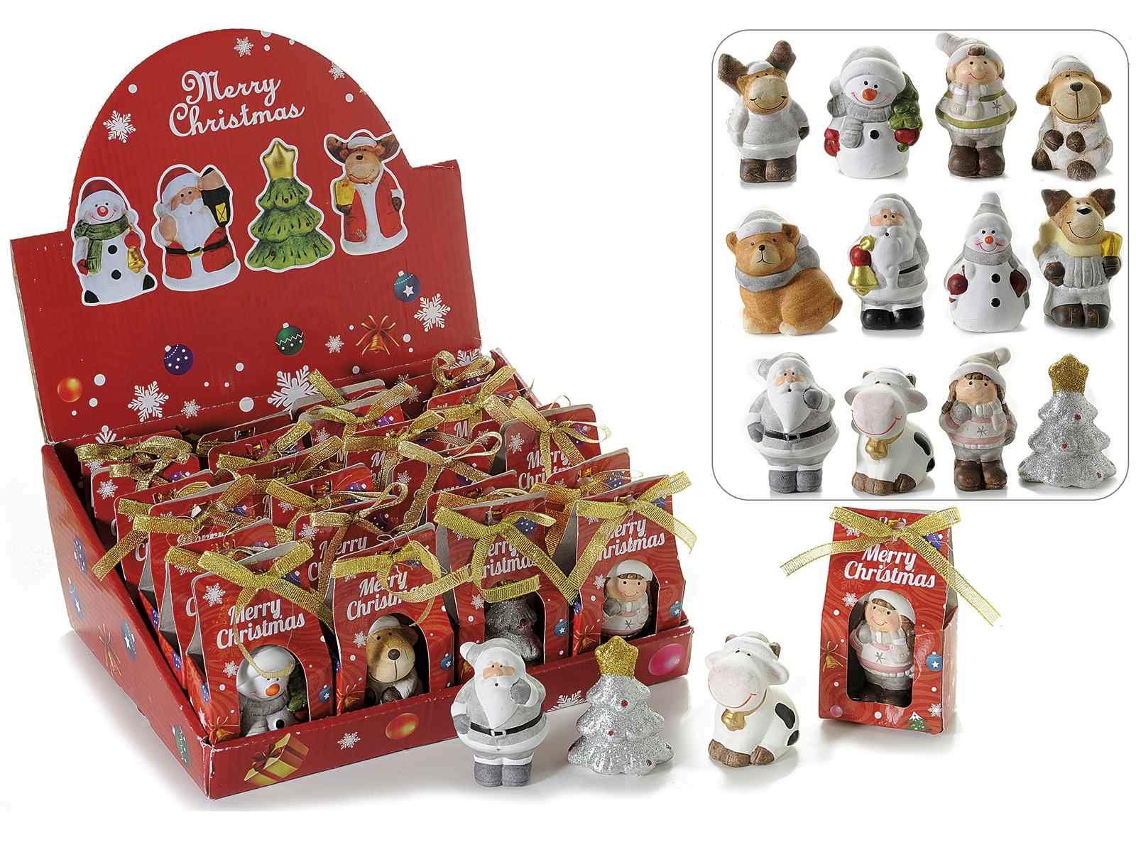 Weihnachten Themen in Keramik w / Geschenk Konfekt (71.27.85) - Art ...
