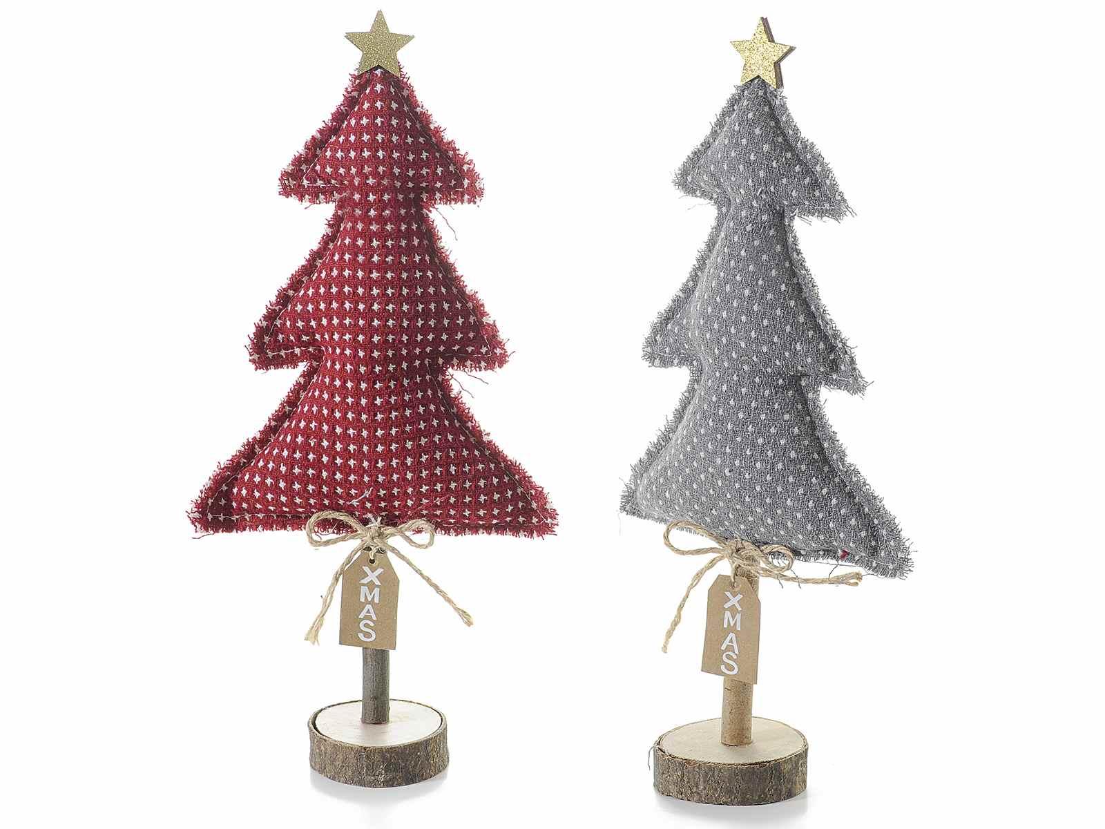 arbol de navidad de madera y tela - Arbol De Navidad De Tela