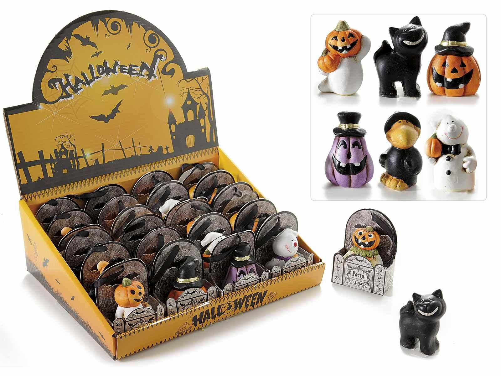 espo con decoraciones de halloween en ceramica - Decoraciones De Halloween