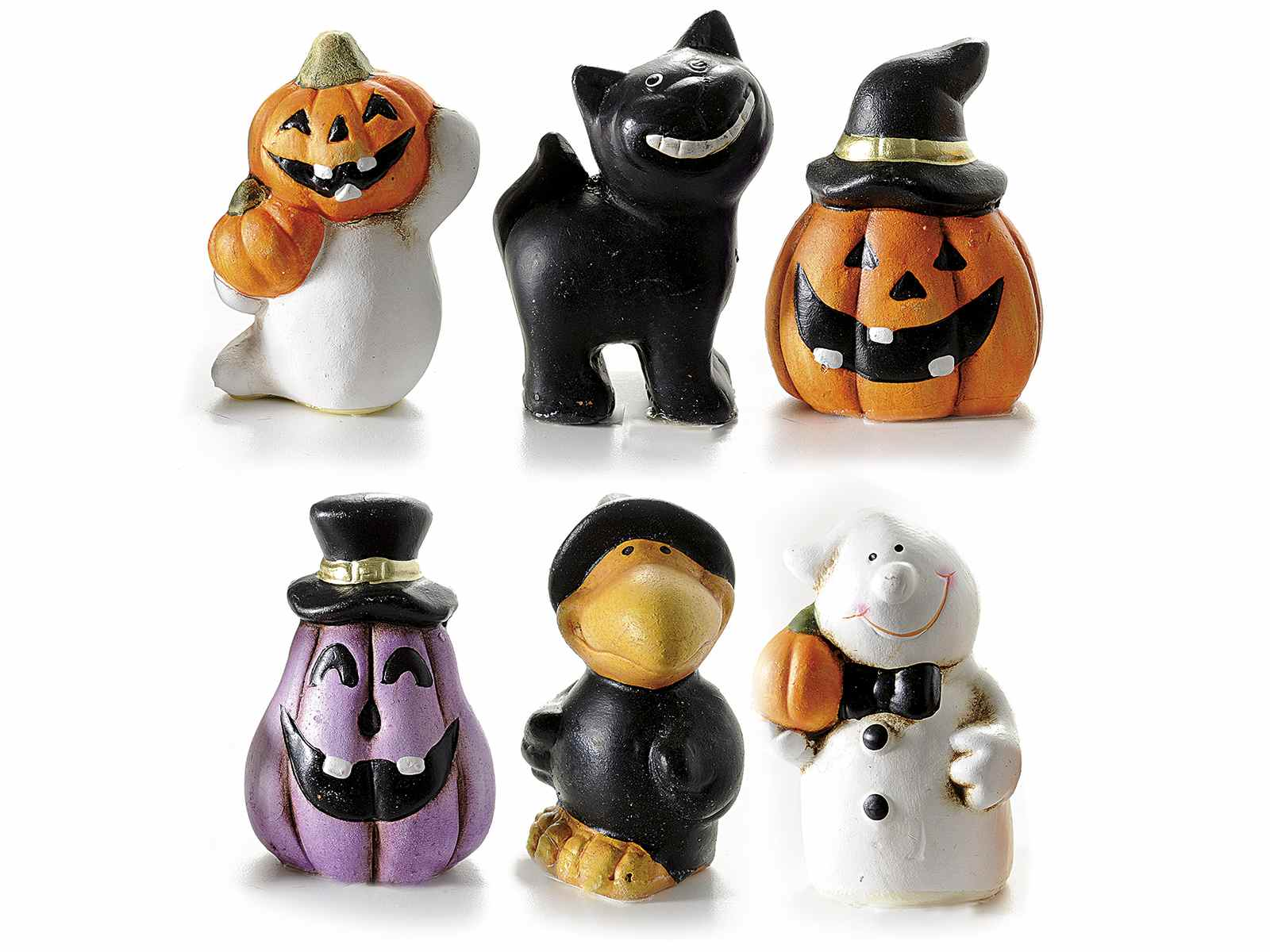 Espo con decoraciones de halloween en ceramica for Articulos decoracion halloween