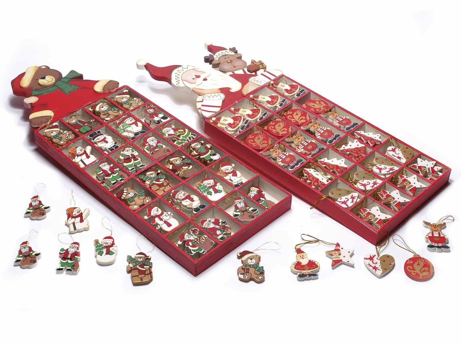 Espo 144 decorazioni natalizie in legno da appendere 51 for Decorazioni natalizie in legno da appendere