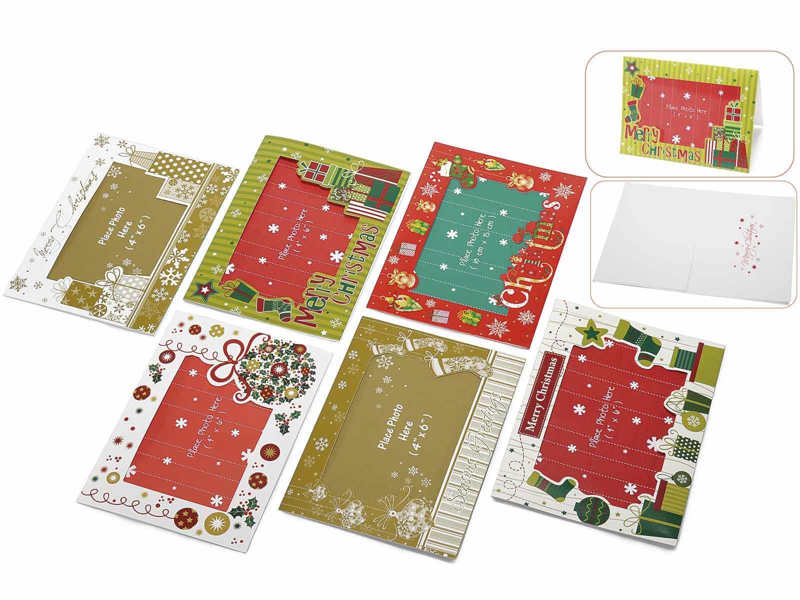 Tarjeta de felicitacion con marco portafotos y sobre (12.12.35 ...