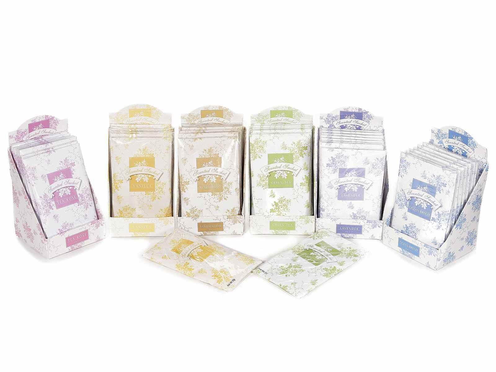 Sachet parfum pour armoire en bo te de 12 pcs - Sachet parfume pour armoire ...
