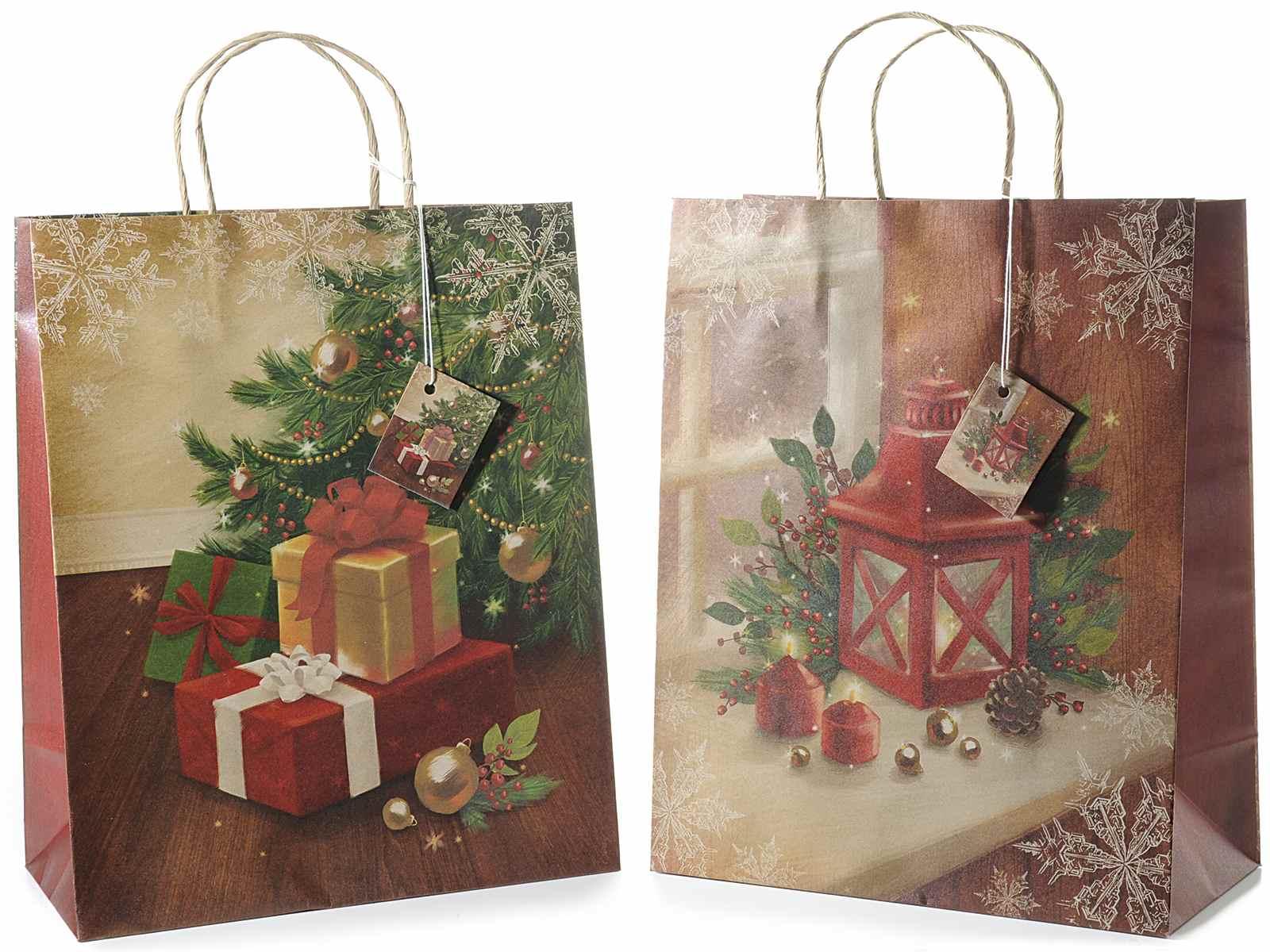 Xmas gift bags wholesale