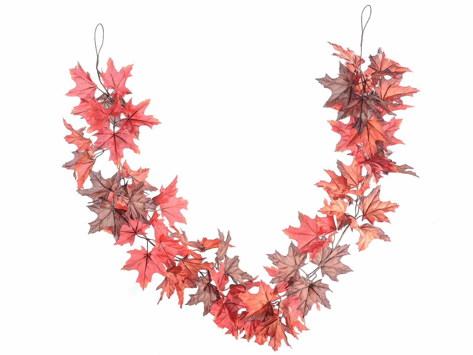 Hanging Autumn Leaf Garland 54 36 24 Art From Italy