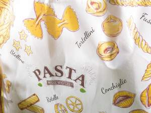 Grossista borse stampa Italian food