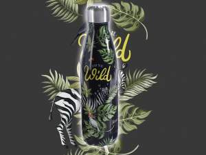 Grossista bottiglie termiche design Wild Jungle