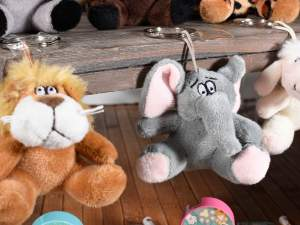 Grossista porta chiavi peluche animale