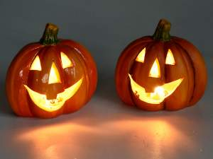 Grossista zucca halloween luce led