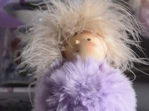 Grossisti bimba decorative pompon pelo