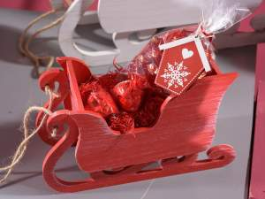 Natale slitte decorative