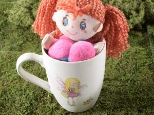 Wholesale ceramic mug fairy decoration