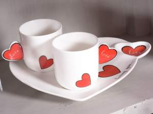Wholesale coffee cup heart