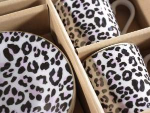 Wholesalers coffee cops porcelain animalier