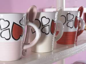 Wholesalers coffee cups heart