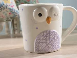 wholesale ceramic decor owl