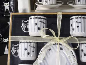 wholesale cups coffè decoration cat