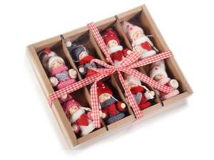 wholesale dolls christmas knitted
