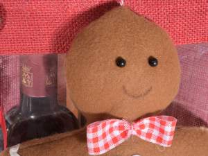 wholesale gingerbread little man cloth