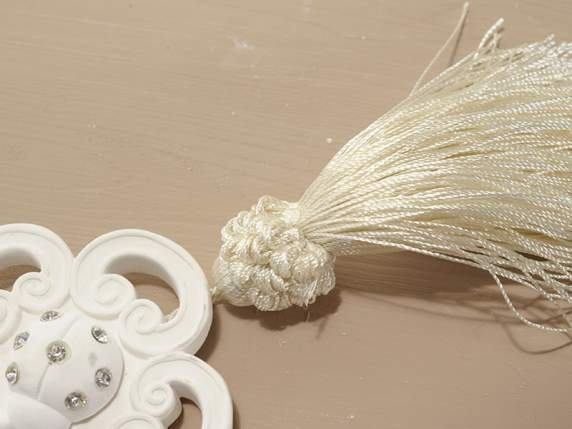 Hanging gypsum air freshener in gift confection