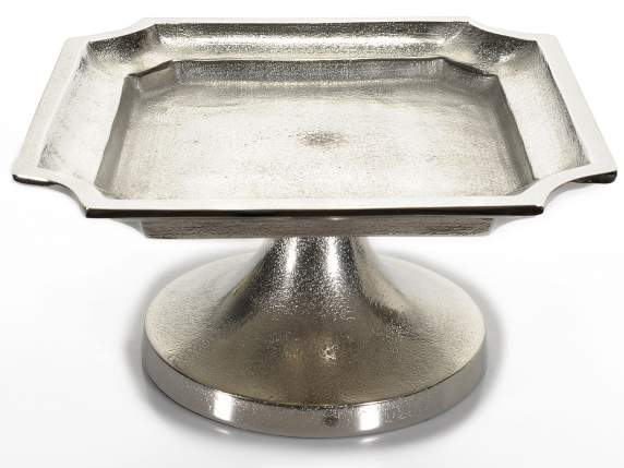 Square metal cake stand