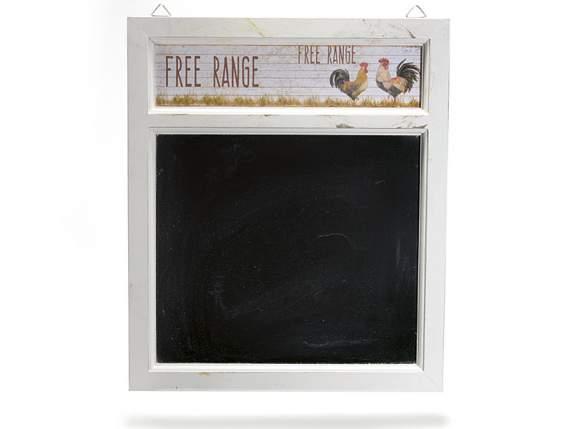 cadre ardoise cuisine ardoise avec cadre en bois banc et dco - Semainier Bois Et Ardoises