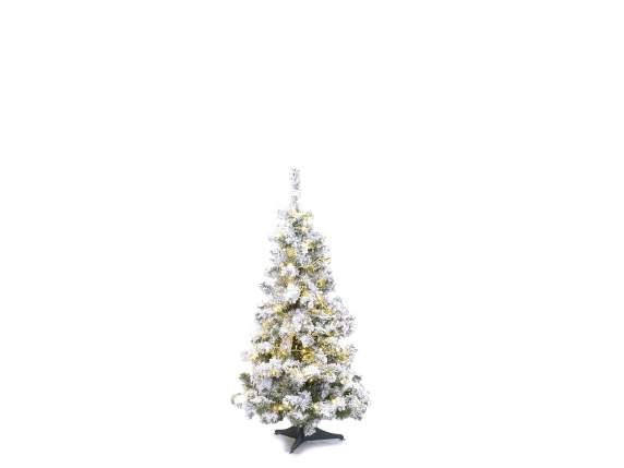 Artificial pine tree with 218 branches and 240 lights