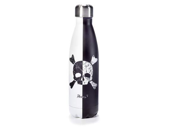 Bottiglia termica 500 ml acciao inox design finitura opaca