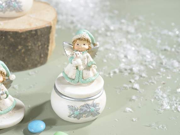 Resin box with little angel