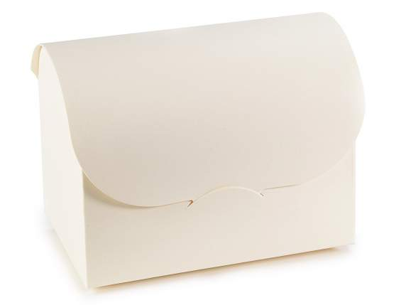 Ivory jewerly Box in Papier