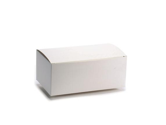 Square box ivory color