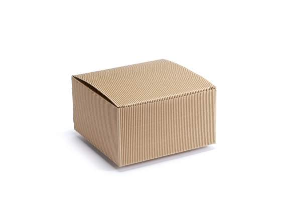 Box in natural paper