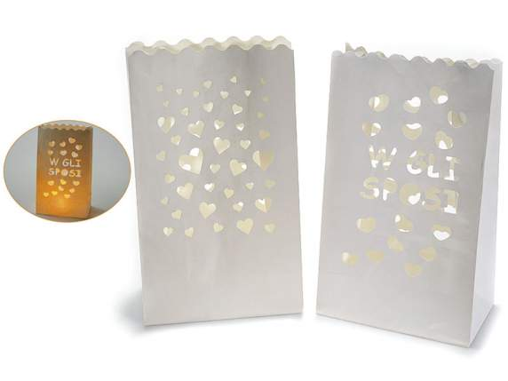 Confection 10 Love candle lantern bags