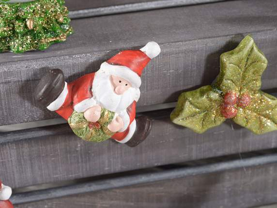 Ceramic magnet w-Christmas subjects