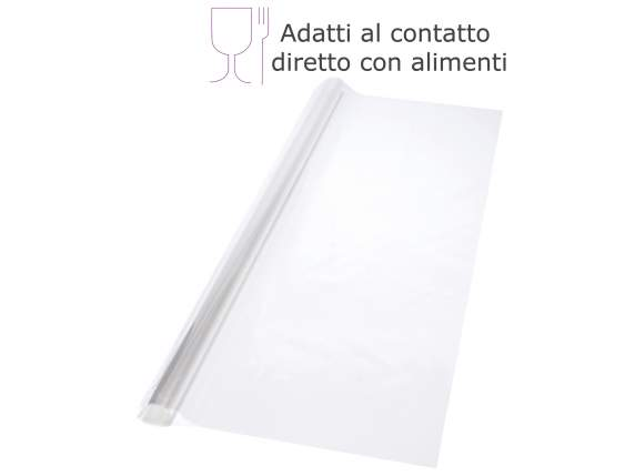 Package with 50 clear sheets