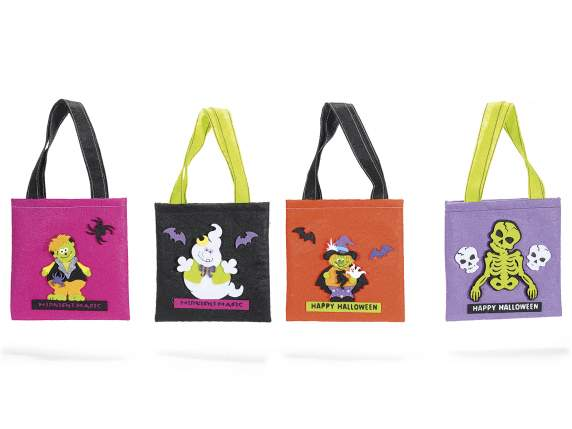 Fabric Halloween bags
