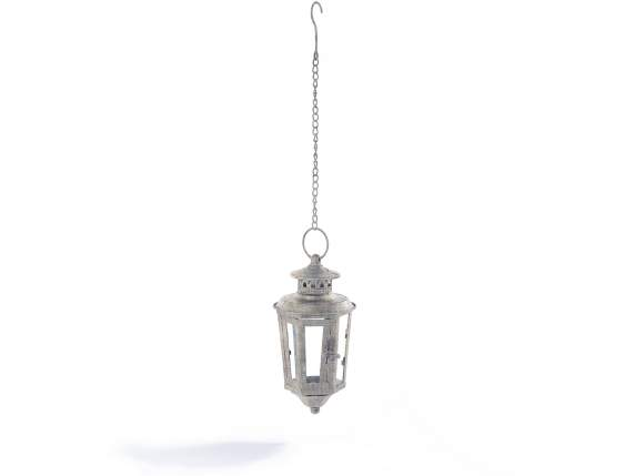 Metal lanterns with small chain