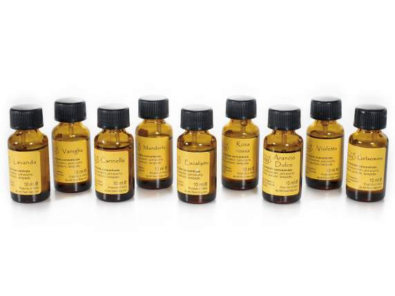 Set 9 flacons dhuiles de 10 ml